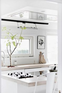 love these counters with white