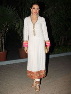 Spotted: Karisma Kapoor at the Manish Malhotra for BMW 6 Series Gran Coupe show