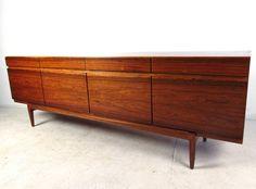 Mid-Century Modern IB Kofod-Larsen Danish Rosewood Sideboard image 5