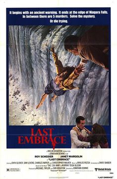 Last Embrace is a 1979 thriller film directed by Jonathan Demme. Based on the novel The 13th Man by Murray Teigh Bloom, it stars Roy Scheider, Janet Margolin and Christopher Walken as Eckart.