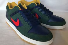 a05e17a5898be First Look  Nike SB Air Force 2 Low Midnight Green