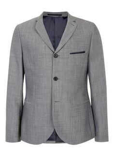 Grey Gatsby Skinny Suit Jacket - Sale Suits - Sale