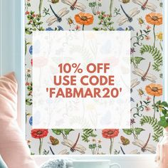 Get OFF storewide by using at checkout until March. Transform your room with our beautiful Window Stickers, Wall Stickers, Window Privacy, Window Films, Best Windows, 10 Off, March, Seasons, Room