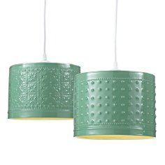 wonder if i could make these using pressed metal ceiling panels