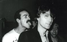 These never-before-seen photographs of celebrities captured by Andy Warhol are about to become and exhibition. This 1979 picture shows John Lennon and the boyfriend of fashion designer Roy Halston Frowick, known as Halston Andy Warhol Art, Friend Poses, Rockn Roll, Victor Hugo, John Lennon, Celebrity Pictures, The Beatles, Beatles Photos, Candid