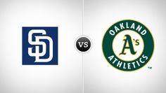 San Diego Padres vs. Oakland Athletics @ The Oakland Coliseum (Oakland, CA)