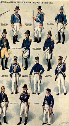 British Royal Navy also French Line Infantry Painting Tutorial 10 as well Index php as well 8 Fast Facts About Hessians also General Timeline. on american 1812 war uniforms