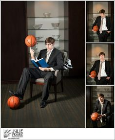 Basketball portraits Sioux Falls Senior Photography Julie Prairie Photography What guy doesn't look awesome in a suit?