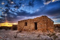 Sunset on a Ghost Town - Anne McKinnell Photography West Texas, Street Photo, Ghost Towns, Wild West, Abandoned Places, Pathways, Great Photos, Monument Valley, In This Moment
