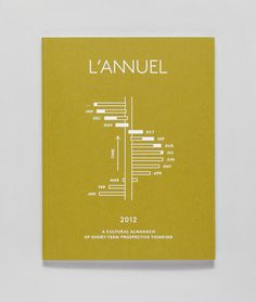 cover of l'Annuel magazine for Sound Pellegrino by Ill studio
