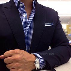 Wurkin Stiffs on deck. Blazer Outfits Men, Mens Fashion Blazer, Suit Fashion, Casual Outfits, Men Casual, Fashion Outfits, Marcelo Mello, Blue Suit Men, Suit And Tie