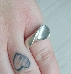Georg Jensen Vintage Danish Jewelry Sterling Silver Modernist Ring - http://designerjewelrygalleria.com/georg-jensen/georg-jensen-vintage-danish-jewelry-sterling-silver-modernist-ring/