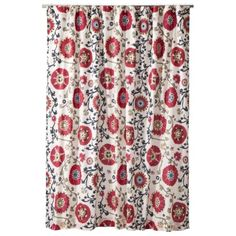 This one is pretty. Love the color. Mudhut™ Suzani Shower Curtain - Vine (72x72)