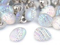 "Knoflík velikost 22"" 2. jakost Diy Jewelry, Pearl Earrings, Pearls, Pearl Studs, Beads, Beading, Handmade Jewelry, Beaded Earrings, Pearl"