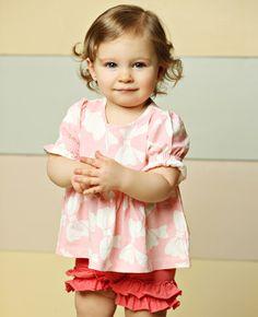 Matilda Jane Clothing, Trillium Top (size2) AND Circus Shorties (2&4)  Good Hart Collection Spring 2013