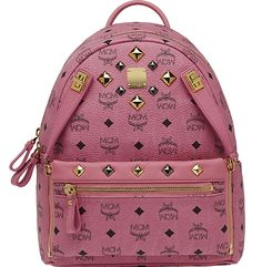 MCM Backpack Worldwide Small 2014 Pink