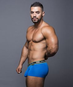 Arad Winwin, actor by Andrew Christian: Black Collection Tagless Boxer.