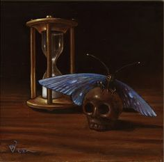 B.A.Vierling Painting: Memento Mori in Berlin