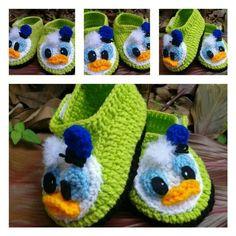 Pantuflas del pato Donald