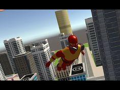 Juego de super heroes para niños, juegos y videos para niños 3 a 6 años