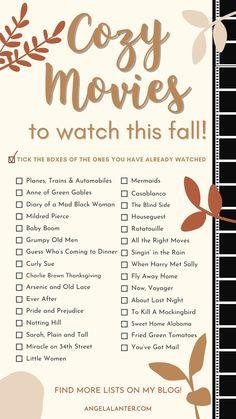 Good Movies To Watch, Netflix Movies To Watch, Movie To Watch List, Movie List, Best Fall Movies, Halloween Movie Night, Fall Halloween, Halloween Movies List, Christmas Movies List