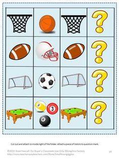 OLYMPICS FILE FOLDER GAMES - TeachersPayTeachers.com