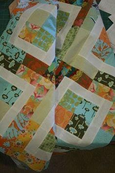 WendyLou Designs: Baby Bento Box-ish Quilt Tutorial - Part 1