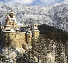 21 magnifiques photos de Roumanie  2Tout2Rien Le château de Bran, chateau de Dracula qui est en vente.