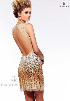 Faviana S7158 at Prom Dress Shop