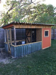 Chicken coop DIY