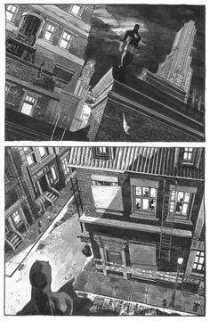Daredevil Yellow # 1 p.4 by Tim Sale - Comic Strip