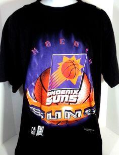 Vintage 90s Magic Johnson T's PHOENIX #SUNS #NBA #Basketball T-SHIRT #MagicJohnsonTs #PhoenixSuns
