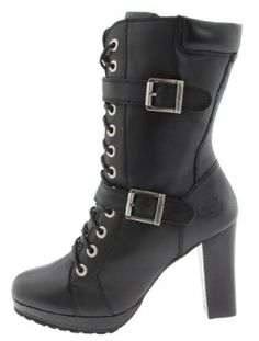 Brilliant Harley-Davidsonu00ae Menu0026#39;s Stealth Motorcycle Boots. Patch Lace Black Riding D91642 - Wisconsin ...
