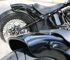 Thunderbike Heckfender- Softail Slim GFK