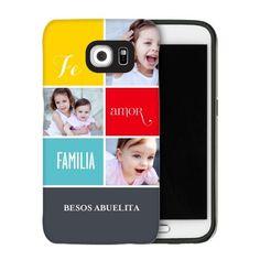 Amor Familia Samsung Galaxy Case, Silicone liner case, Glossy, Samsung Galaxy S6, Grey