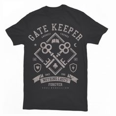 Gate Keeper T shirt design