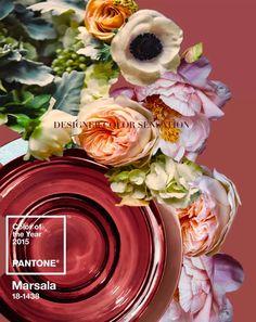 #MARSALA - Pantone Color of the Year!  http://designercolorsensation.blogspot.com/
