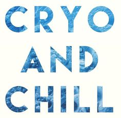 Come in to chill with us and get the HUGE benefits from Whole Body Cryotherapy today!