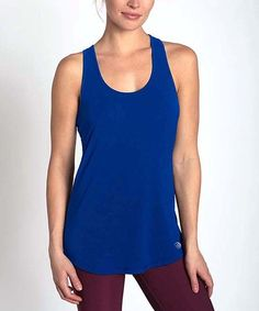 This Pulse Blue Elemental Racerback Tank is perfect! #zulilyfinds