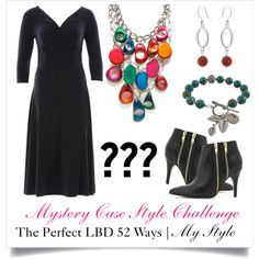 The Perfect LBD 52 Ways | Finding My Style by mysterycase on Polyvore