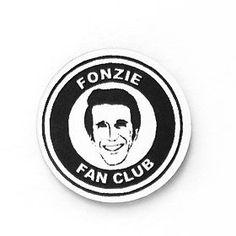 The Fonz Fonzie Happy Days faux fan club pin brooch badge by Your Fan Club from LA LA LAND. Fonzie Happy Days, The Fonz, Juventus Logo, Badge, Fan, Club, Brooch, Accessories, La La Land