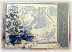 A Blue Christmas by akronstamperdpk - Cards and Paper Crafts at Splitcoaststampers