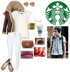 """Starbucks with Zayn"" by what-makes-you-beautiful-139 ❤ liked on Polyvore"