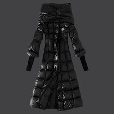 Cheap Moncler Down Coats Women Discount Style Black DC301601 UK