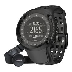 (Limited Supply) Click Image Above: Suunto Mens Ambit Heart Rate Moniter Stainless Watch - Black Rubber Strap - Black Dial - Sport Watches, Watches For Men, Men's Watches, Luxury Watches, Notebooks, Gps Fitness Tracker, Smartphone, Wearable Device, Heart Rate Monitor