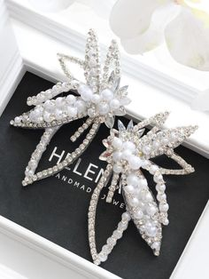 Crystal Earrings, Brooch, Clothes For Women, Crystals, Clothing, Wedding, Shoes, Jewelry, Fashion