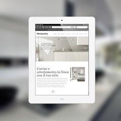 E' on line il nostro nuovo sito, restyling completo dell'immagine Nova Cucina