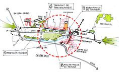 Plan Concept Architecture, Site Analysis Architecture, Urban Design Concept, Urban Design Diagram, Urbane Analyse, Mental Map, Diagram Chart, Urban Planning, Design Process