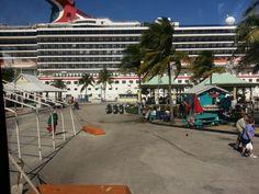 Freeport Carnival Pride in background