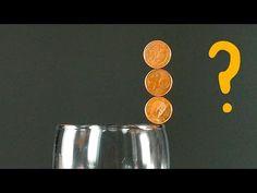 Truco de Monedas en Equilibrio - YouTube